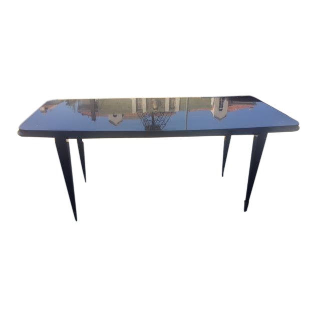 1940's French Deco Writing Table For Sale