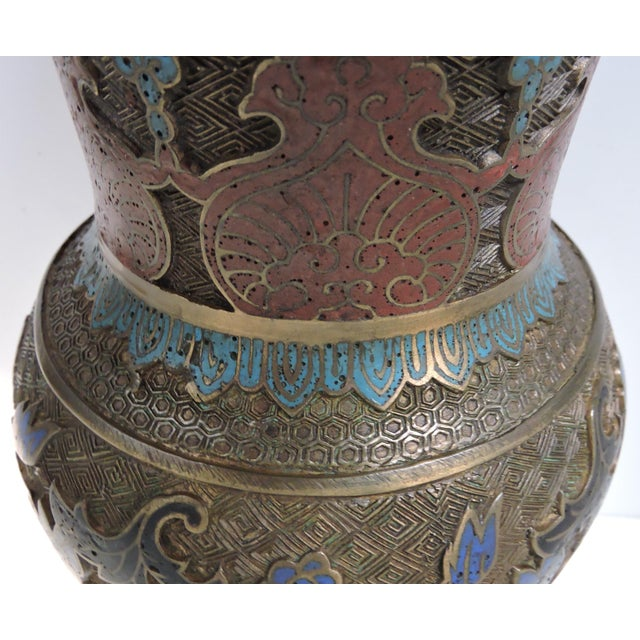 Early 20th Century Antique Japanese Champleve Cloisonné ...