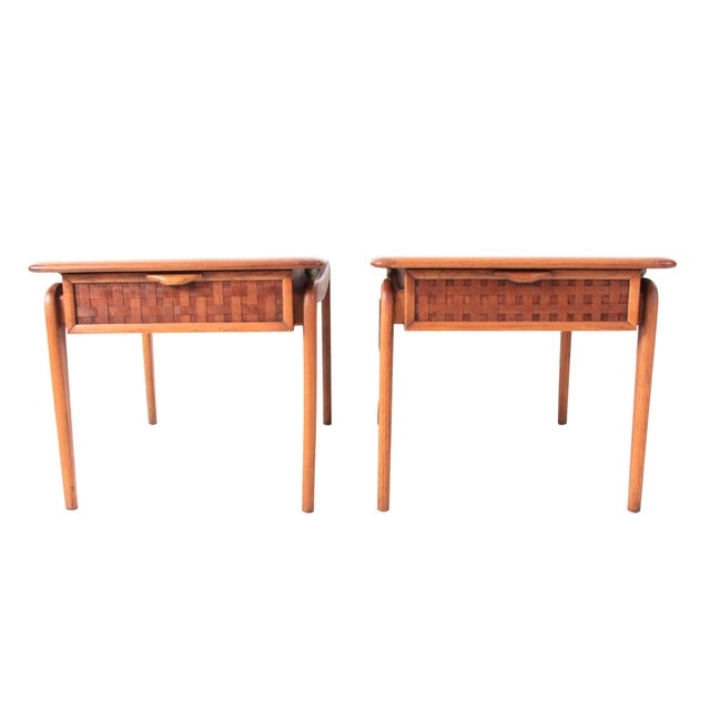 Vintage Lane Mid-Century Side Tables - a Pair - Image 1 of 10