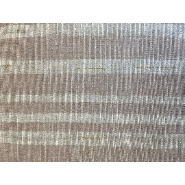 Wood Upholstered Carved Wood Lion Bench For Sale - Image 7 of 8