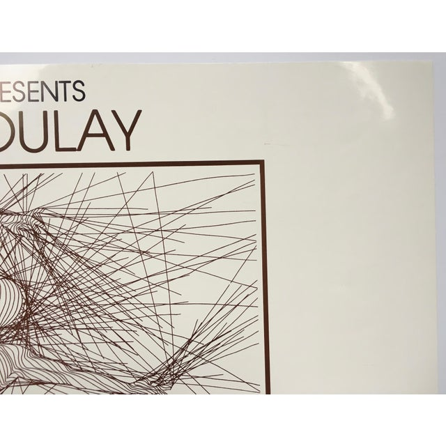 Vintage Guillaume Azoulay Gallery Exhibit Poster For Sale In Washington DC - Image 6 of 10