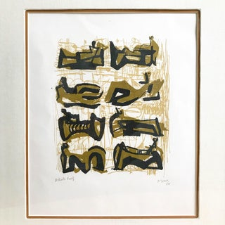 Henry Moore, Eight Reclining Figures, Artist Proof, 1958