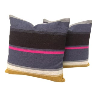 Knoll Sherman Striped Pillows - A Pair