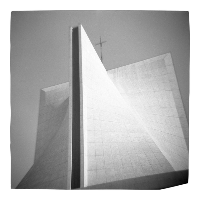Cathedral Black & White Photograph For Sale