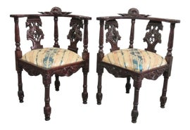 Image of Victorian Corner Chairs