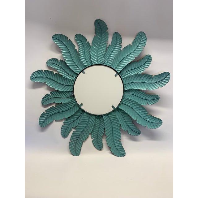 2010s Spanish Sunburst Wall Mirror For Sale - Image 5 of 6