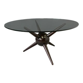 Gio Ponti Attributed Spike Cocktail Table For Sale