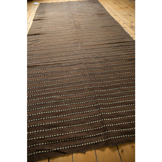"""Vintage Moroccan Kilim Rug Runner - 5' X 11'7"""" For Sale - Image 9 of 13"""