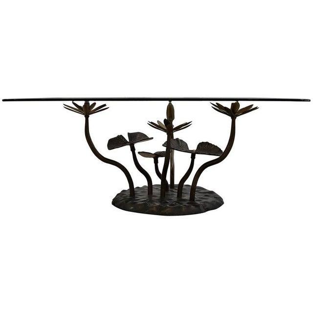 Stylish Mid-Century Modern Lotus Coffee Table - Image 11 of 11
