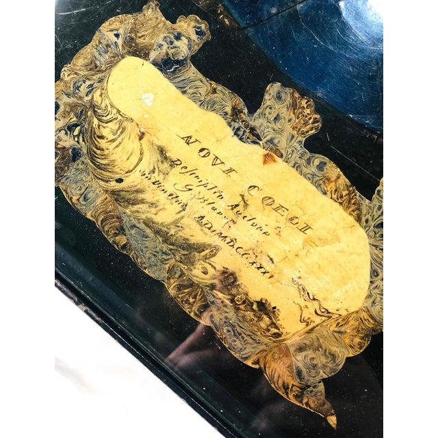 Guglielmus Blaeuni - Guglielmus Blaeuni Scagliola Policromia Coffee Table From 1731 For Sale - Image 4 of 8