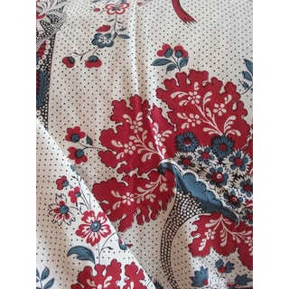 French Country Pierre Frey Amboise Cotton Toile Fabric - 16 Yds For Sale