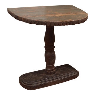 Piedmontese Demilune Side Table For Sale