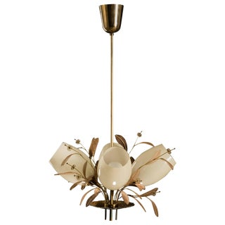 Chandelier by Paavo Tynell For Sale