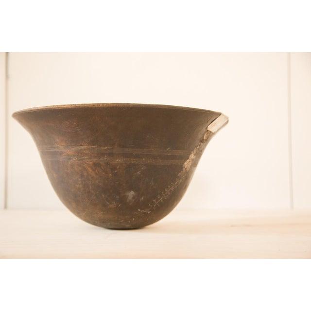 Vintage Wooden African Bowl - Image 3 of 10