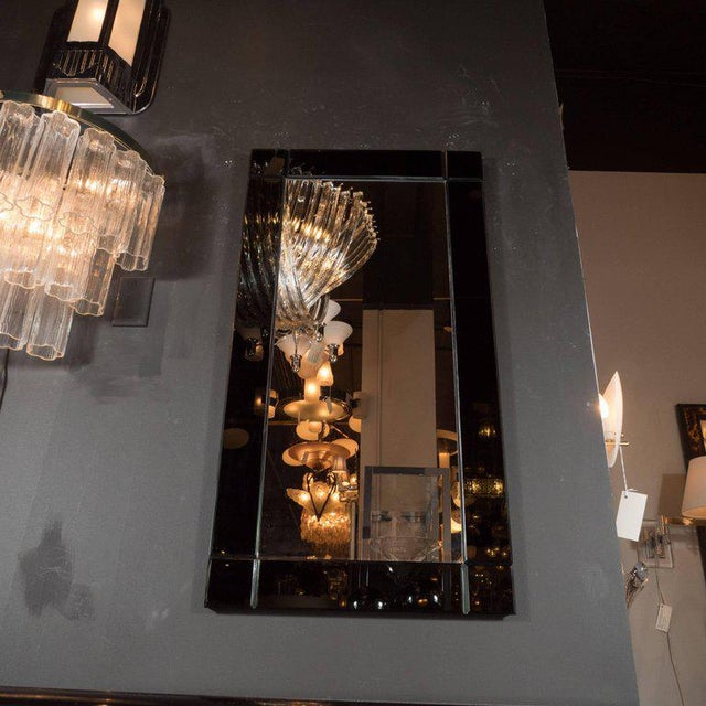 This stylish rectangular mirror represents one of the few contemporary pieces that we carry here at high style deco and...