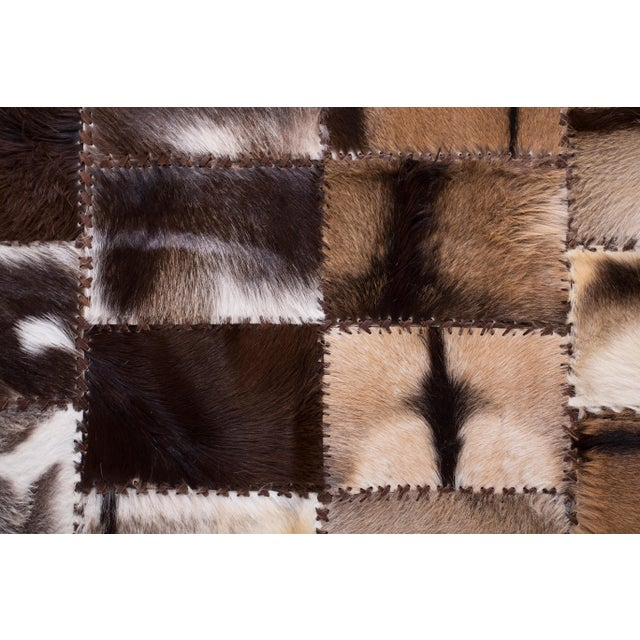 """Aydin Goatskin Patchwork Accent Area Rug - 4'7"""" x 6'7"""" - Image 5 of 9"""
