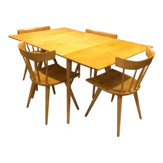 Paul McCobb for Planner Group Birchwood Dining Set - 5 Pieces For Sale