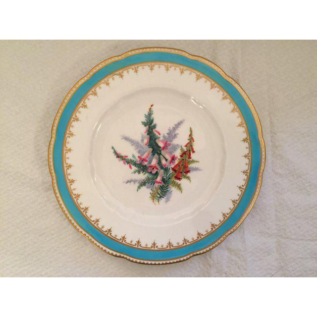 1930s English Traditional China Plate For Sale In Tampa - Image 6 of 8