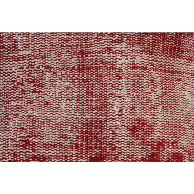 Vintage Red Overdyed Pillow Cover - Image 3 of 7