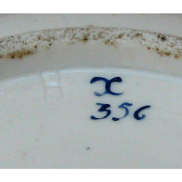 Pair of Rare Louis XVI Porcelain Covered Dishes For Sale - Image 4 of 5