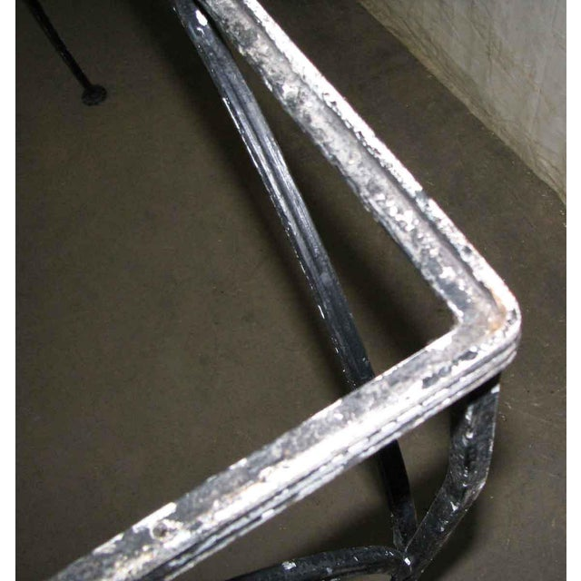Wrought Iron Patio Table For Sale - Image 5 of 9
