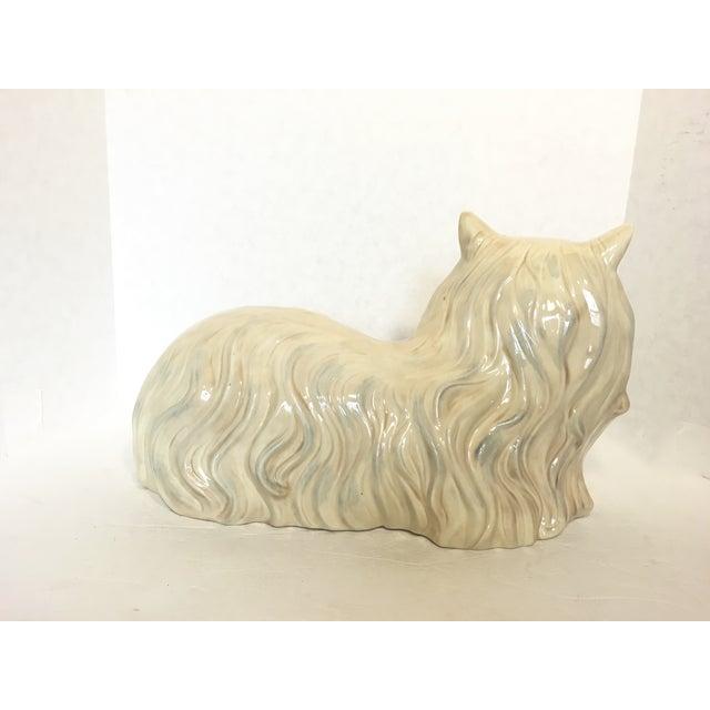 Vintage Ceramic Cat Statue - Image 6 of 6
