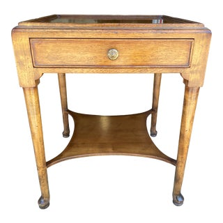 Baker Furniture Company Milling Road Side Table For Sale