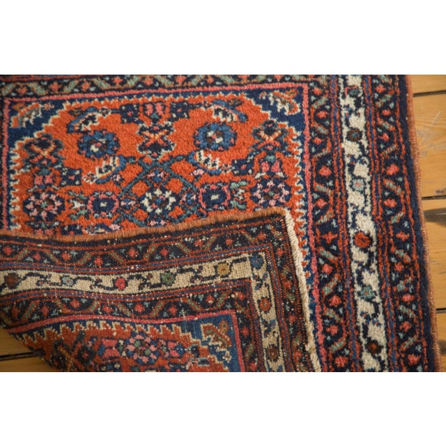 "Vintage Persian Engelas Rug Mat - 2' X 2'6"" For Sale - Image 7 of 7"
