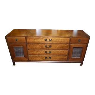 Bert England Walnut Sideboard for Johnson Furniture For Sale