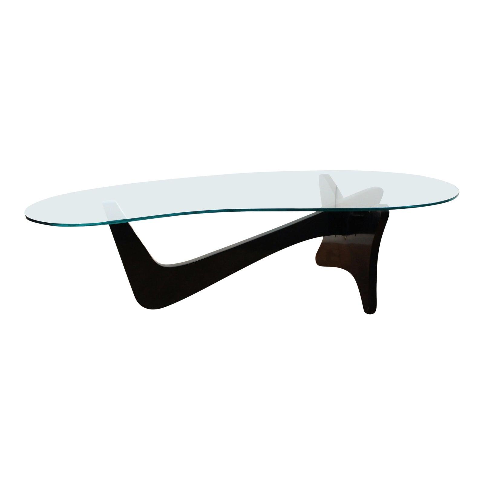 Mid Century Modern Airplane Coffee Table In Noguchi Style Chairish