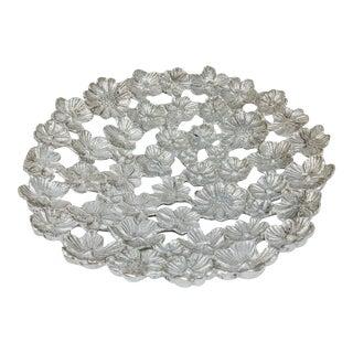 Daisy Flower Aluminum Bowl