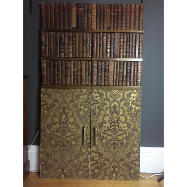 Late 19th Century Panels of 18th Century French Bookbinds For Sale - Image 11 of 11