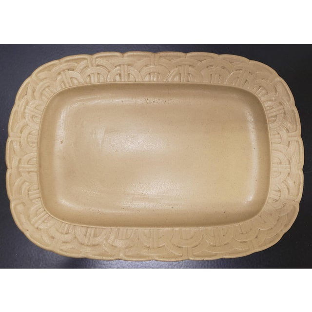 Early to Mid 19th Century English Wedgwood Caneware Game Pie Dish With Underplate - 2 Pieces For Sale - Image 11 of 13