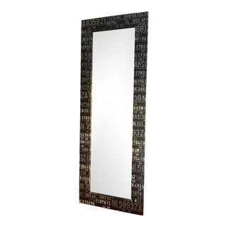 Industrial Floor-Length Mirror