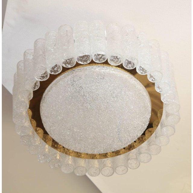 Gold Vintage Doria Flush Mount Light For Sale - Image 8 of 8