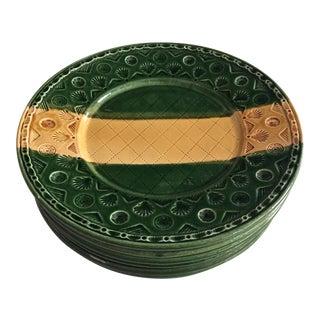 6'Lyon' Italian Pottery Plates
