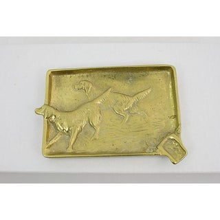 Antique Hunting Dog Ashtray Preview