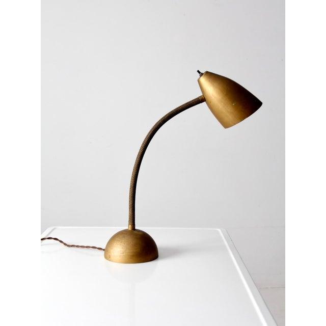 Mid-Century Modern Mid-Century Gooseneck Table Lamp For Sale - Image 3 of 11