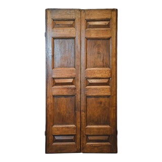 Pair of 18th Century Spanish Doors For Sale