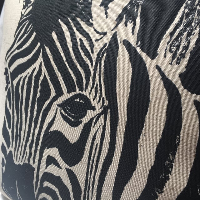 Zebra Print Pillow - Image 4 of 7