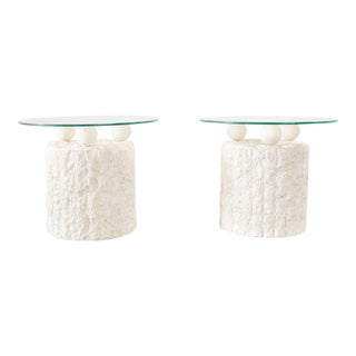 Postmodern Magnussen Ponte Side Tables - a Pair For Sale
