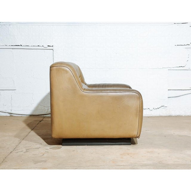 De Sede Vintage 70's De Sede DS-43 Lounge Chair For Sale - Image 4 of 11