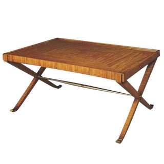 Satinwood Coffee Table from the Lucien Rollin Collection by William Switzer