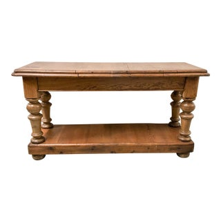 Antique French Pine Work Table