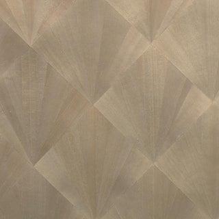 Maya Romanoff Ajiro Fanfare Wood Veneer: Silver Birch Luster - Wood Veneer Wallcovering, 24 yds (21.9 m) For Sale