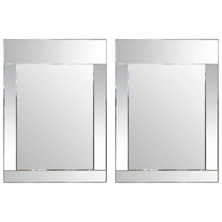 La Barge Mirror Framed Mirrors - a Pair For Sale