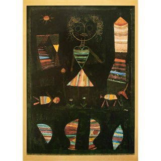 "1990 Paul Klee ""Puppet Theatre"", First German Edition Poster For Sale"