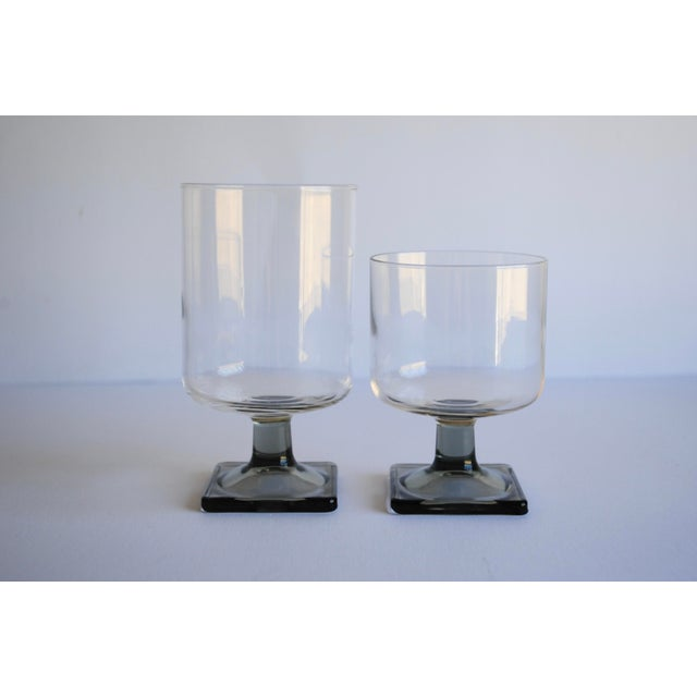 Mid-Century Modern Glasses - Set of 6 - Image 4 of 4