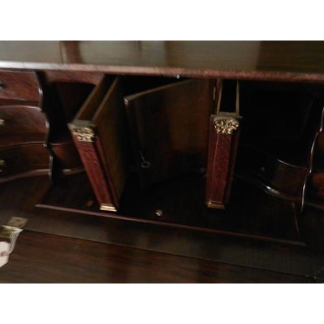 Late 18th Century Late 18th Century Dutch Drop Front Desk in Burl Walnut circa 1780-1800 For Sale - Image 5 of 5