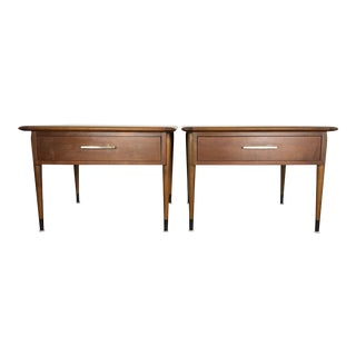 Lane Acclaim Square End Tables - A Pair